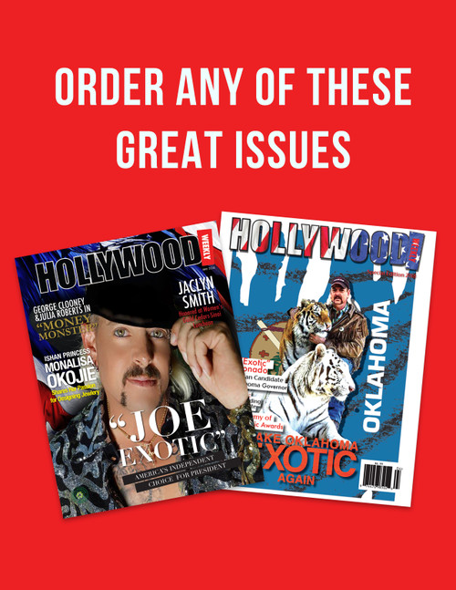 Netflix is now showing Joe Exotic's story, but HW got the scoop. Purchase our exclusive cover -story today.