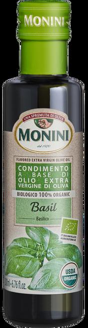 Organic Basil Flavored EVOO 200ml  6.8 oz