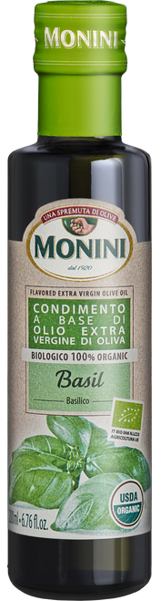 Organic Basil Flavored EVOO 200ml  6.8 oz