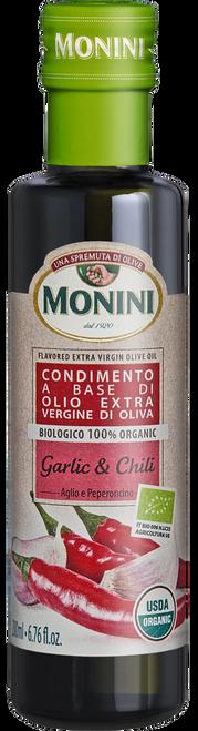 Organic Garlic & Chili Flavored EVOO 200ml 6.8 oz