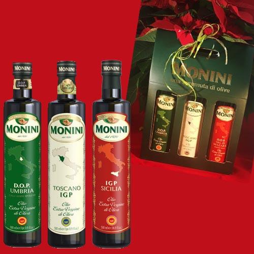 Monini Special Offer - D.O.P. - I.G.P. Gift Set