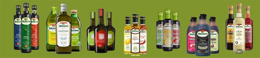 Monini Extra Virgin Olive Oils