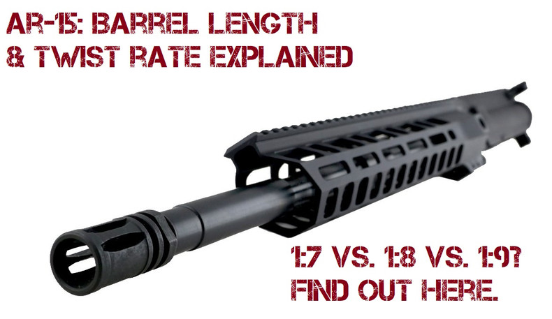 The Ar 15 Picking The Best Barrel Length Twist Rate 80 Lower Jig