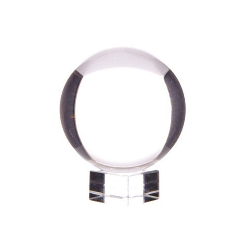 Crystal Ball - 30mm Diameter - Glass Stand