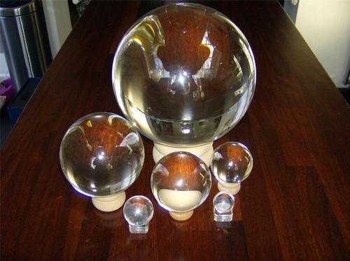 Crystal Ball - 50mm Diameter - Glass Stand