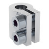 4000-0006-0006 - 4000 Series Clamping Shaft Coupler (6mm Round Bore to 6mm Round Bore)