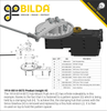 Aluminum Hub-Mount Control Arm (14mm Bore, 72mm Length)