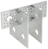 Flat Triple Pattern Bracket