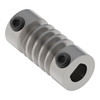 """1/4"""" D-Bore Stainless Steel Worm"""