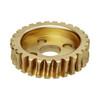 27 Tooth Brass Hub Mount Worm Gear
