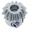 """13 Tooth, 1/4"""" D-Bore, 20 Pitch, Shaft Mount Bevel Gear"""