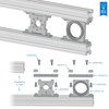 X-Rail Surface Adaptor Bracket (2 pack)