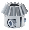 13 Tooth, 6mm D-Bore, 20 Pitch, Shaft Mount Bevel Gear