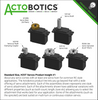 Standard Size, H25T Servos Product Insight #1