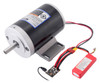 Pololu Jrk G2 18v27 USB Motor Controller with Feedback controlling a high-power motor from USB