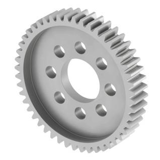 "1/4"" Width, 1/2"" Bore, Aluminum 32 Pitch Hub Mount Gears"