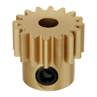4mm Bore 32 Pitch Brass Pinion Gears