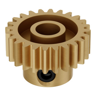 6mm Bore 32 Pitch Brass Pinion Gears