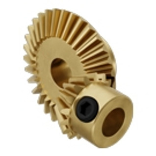 6mm Bore 32 Pitch Brass Bevel Gears