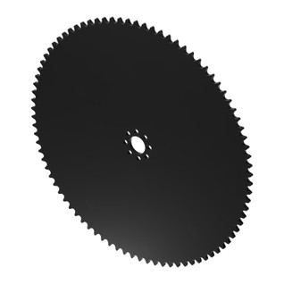 """86 Tooth 0.770"""" Acetyl Hub Mount Sprocket 0.250"""" Pitch"""