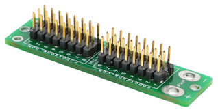 Servo Power Board (assembled with full pins)