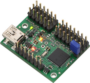 Mini Maestro 12-channel USB