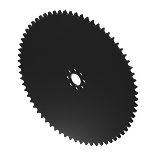 """68 Tooth 0.770"""" Acetyl Hub Mount Sprocket 0.250"""" Pitch"""