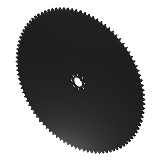 """98 Tooth 0.770"""" Acetyl Hub Mount Sprocket 0.250"""" Pitch"""