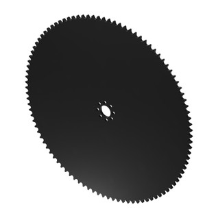 """100 Tooth 0.770"""" Acetyl Hub Mount Sprocket 0.250"""" Pitch"""