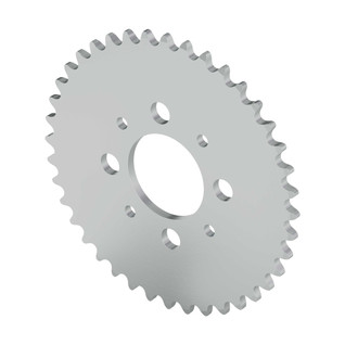 """40 Tooth 1.50"""" Aluminum Hub Mount Sprockets 0.250"""" Pitch"""