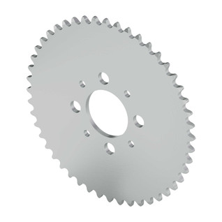 """48 Tooth 1.50"""" Aluminum Hub Mount Sprockets 0.250"""" Pitch"""
