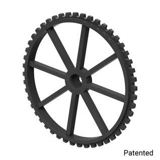 "0.1227"" Pitch, 48 Tooth Nylon Servo Sprocket with 24 Tooth Spline"