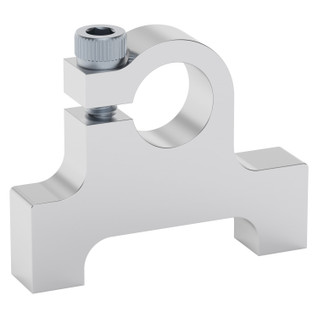 """3/8"""" Bore Bottom Tapped Clamping Mount"""