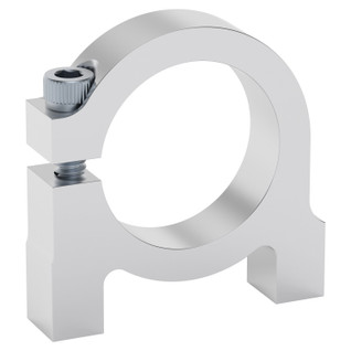 """0.84"""" Bore Bottom Tapped Clamping Mount for 1/2"""" PVC"""
