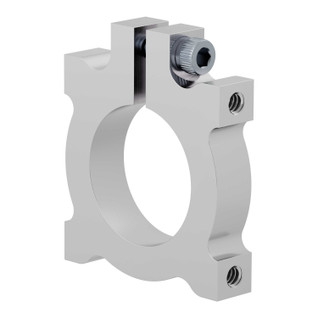 22mm Bore Side Tapped Clamping Mount