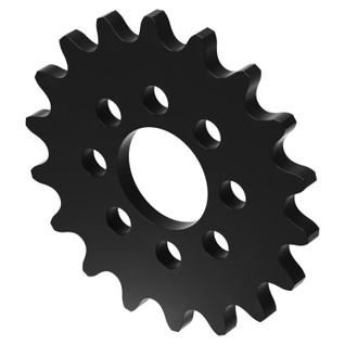 """18 Tooth 0.770"""" Acetyl Hub Mount Sprocket 0.250"""" Pitch"""