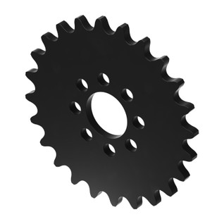 """24 Tooth 0.770"""" Acetyl Hub Mount Sprocket 0.250"""" Pitch"""