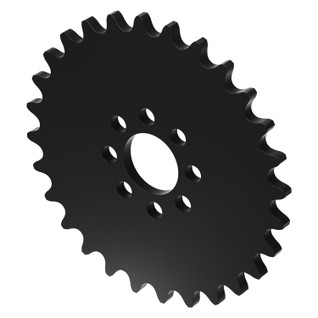 """28 Tooth 0.770"""" Acetyl Hub Mount Sprocket 0.250"""" Pitch"""