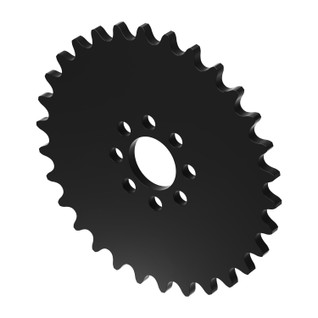 """30 Tooth 0.770"""" Acetyl Hub Mount Sprocket 0.250"""" Pitch"""