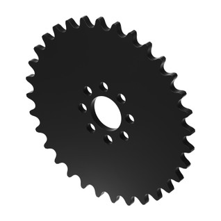 """32 Tooth 0.770"""" Acetyl Hub Mount Sprocket 0.250"""" Pitch"""