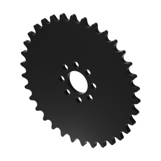 """34 Tooth 0.770"""" Acetyl Hub Mount Sprocket 0.250"""" Pitch"""