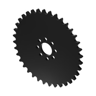 """36 Tooth 0.770"""" Acetyl Hub Mount Sprocket 0.250"""" Pitch"""