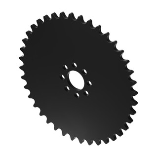 """40 Tooth 0.770"""" Acetyl Hub Mount Sprocket 0.250"""" Pitch"""
