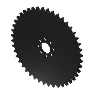 """44 Tooth 0.770"""" Acetyl Hub Mount Sprocket 0.250"""" Pitch"""