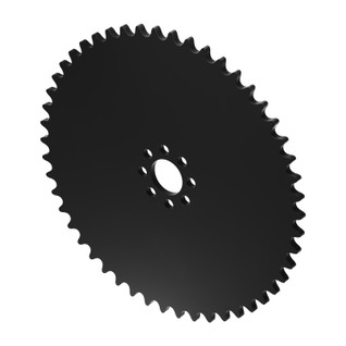"""50 Tooth 0.770"""" Acetyl Hub Mount Sprocket 0.250"""" Pitch"""