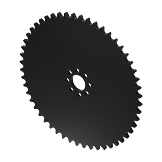 """52 Tooth 0.770"""" Acetyl Hub Mount Sprockets 0.250"""" Pitch"""