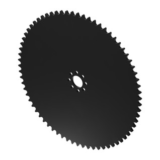 """70 Tooth 0.770"""" Acetyl Hub Mount Sprocket 0.250"""" Pitch"""
