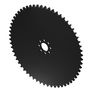 """60 Tooth 0.770"""" Acetyl Hub Mount Sprocket 0.250"""" Pitch"""