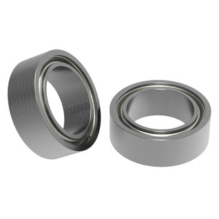 "1/4"" ID x 3/8"" OD Non-Flanged Ball Bearing (2 pack)"