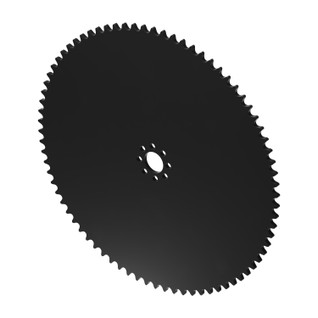 """78 Tooth 0.770"""" Acetyl Hub Mount Sprocket 0.250"""" Pitch"""